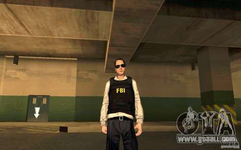 FBI HD for GTA San Andreas forth screenshot