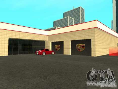 Motor Show Porsche for GTA San Andreas fifth screenshot