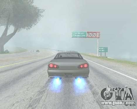 The blur off when using Nitro for GTA San Andreas third screenshot