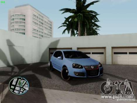 Volkswagen Golf V R32 Black edition for GTA San Andreas
