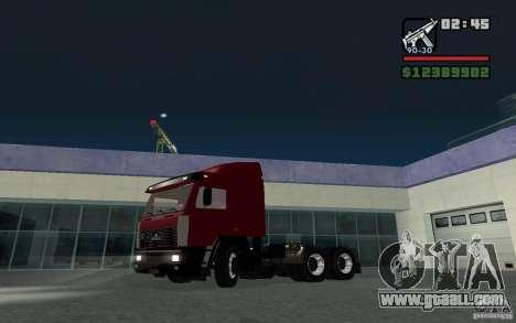 Maz-643068 for GTA San Andreas