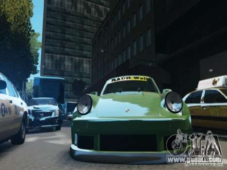Porsche 911 Turbo RWB Pandora One Beta for GTA 4 side view