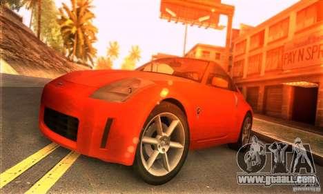 Nissan 350Z Tunable for GTA San Andreas
