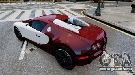 Bugatti Veyron 16.4 v1.0 wheel 1 for GTA 4 right view