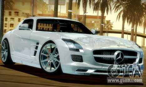 Mercedes-Benz SLS AMG 2010 for GTA San Andreas