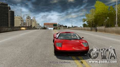 Vehicle speed for GTA 4 second screenshot