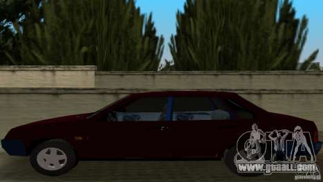 VAZ 21099 for GTA Vice City back view