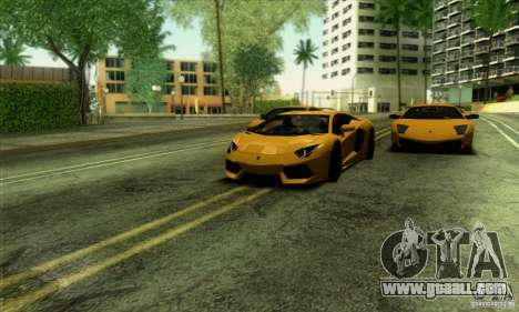 SA_gline v2.0 for GTA San Andreas forth screenshot