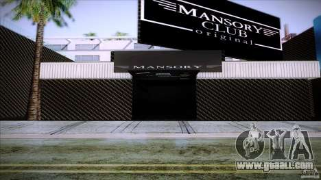 Mansory Club Transfender & PaynSpray for GTA San Andreas second screenshot