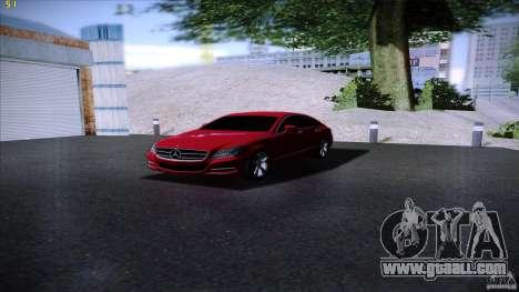 Mercedes Benz CLS 350 2011 for GTA San Andreas