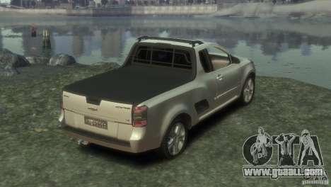 Chevrolet Montana Sport 2011 for GTA 4 back left view