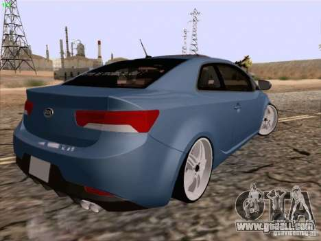 Kia Cerato Coupe 2011 for GTA San Andreas left view