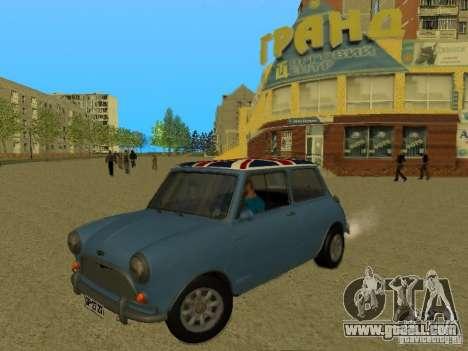 Mini Cooper 1965 for GTA San Andreas