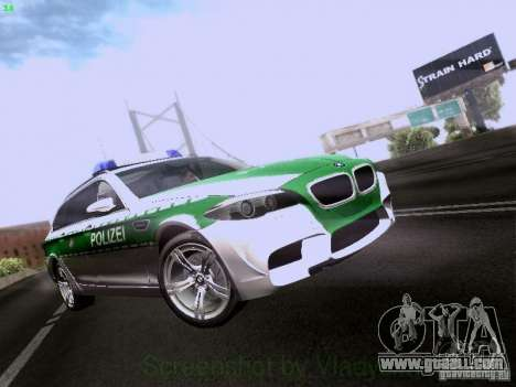 BMW M5 Touring Polizei for GTA San Andreas