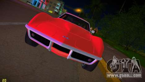 Chevrolet Corvette (C3) Stingray T-Top 1969 for GTA Vice City