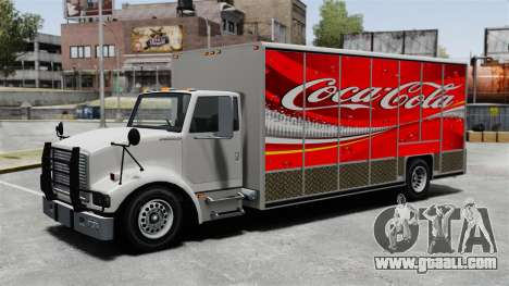 The new advertisement for Benson truck for GTA 4 fifth screenshot