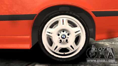 BMW M3 E36 for GTA 4 interior