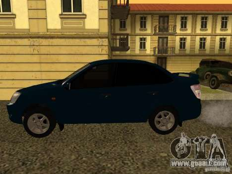VAZ 2190 for GTA San Andreas left view