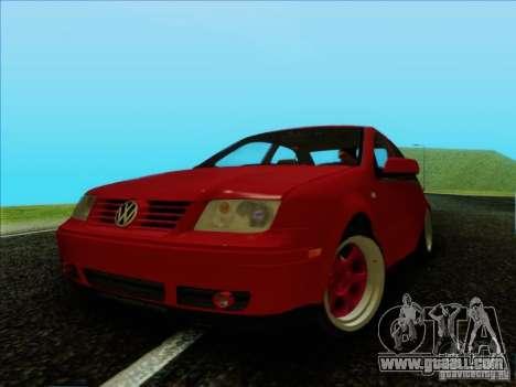 Volkswagen Bora HellaFlush for GTA San Andreas