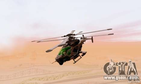AH-2 Сrysis 50 C.E.L.L. Helicopter for GTA San Andreas back view
