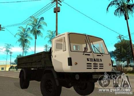 KAZ 4540 dump truck for GTA San Andreas
