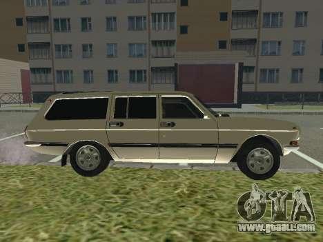 GAZ-24 Volga 12 for GTA San Andreas back left view