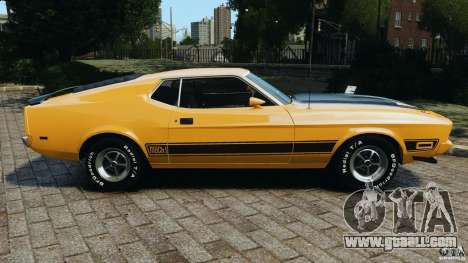 Ford Mustang Mach 1 1973 v2 for GTA 4 left view
