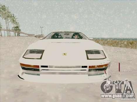 Ferrari Testarossa Custom for GTA San Andreas right view