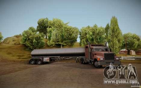 Caravan from Mack Pinnacle Rawhide Edition for GTA San Andreas back view