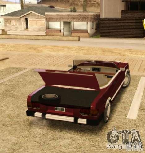 Feltzer HD v2 for GTA San Andreas right view
