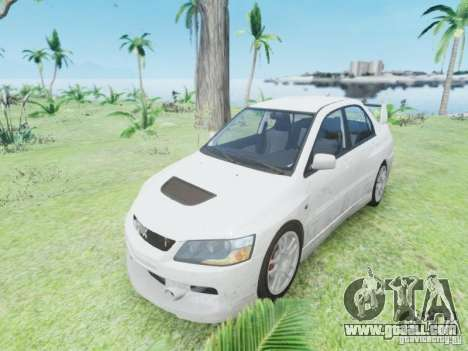Mitsubisi Lancer Evolution IX GSR 2005 for GTA 4