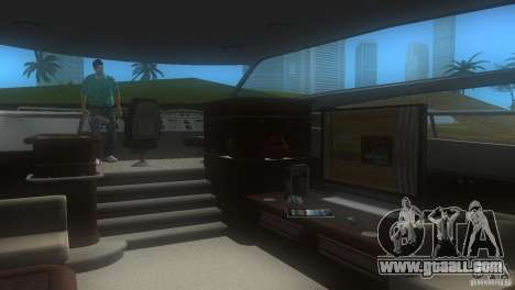 Boat for GTA Vice City back left view
