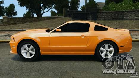 Ford Mustang 2013 Police Edition [ELS] for GTA 4 left view