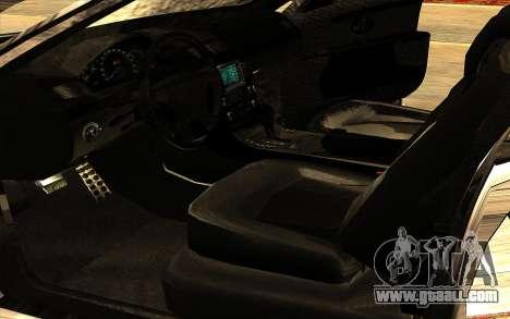 Maybach 62 for GTA San Andreas bottom view