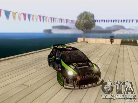 Ford Fiesta Gymkhana 3 for GTA San Andreas