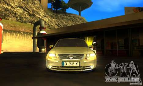 Volkswagen Phaeton 2005 for GTA San Andreas back left view