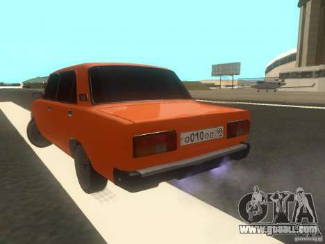 VAZ 2105 for GTA San Andreas left view