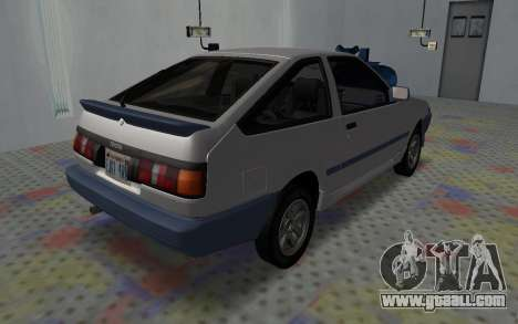 Toyota Corolla GT-S Tunable for GTA San Andreas left view