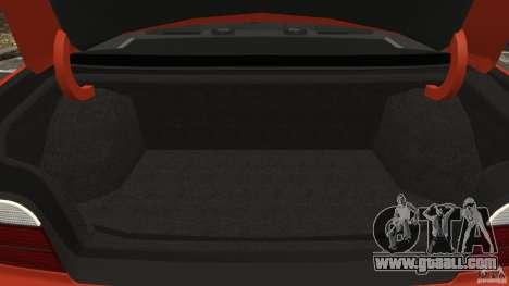 BMW M3 E36 for GTA 4 bottom view
