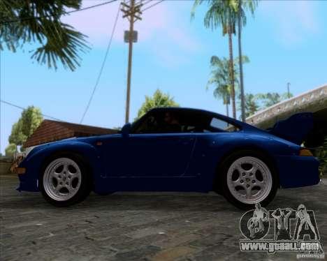 Porsche 911 GT2 RWB Dubai SIG EDTN 1995 for GTA San Andreas inner view