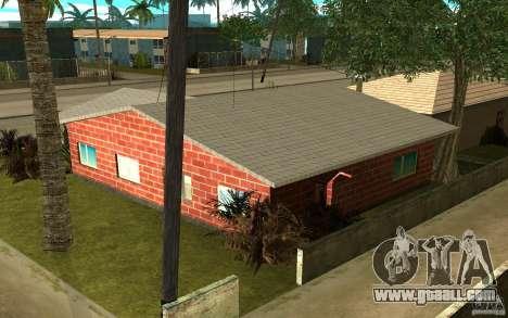 New textures home Denis for GTA San Andreas third screenshot