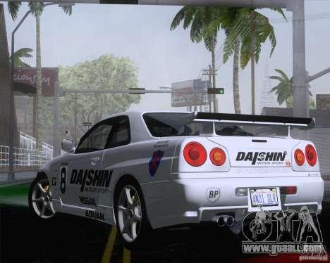 Playable ENB Series v1.2 for GTA San Andreas sixth screenshot
