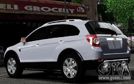 Chevrolet Captiva 2010 for GTA 4 right view