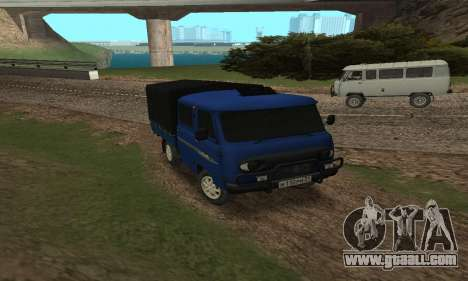 UAZ 39094 Fermer for GTA San Andreas back left view