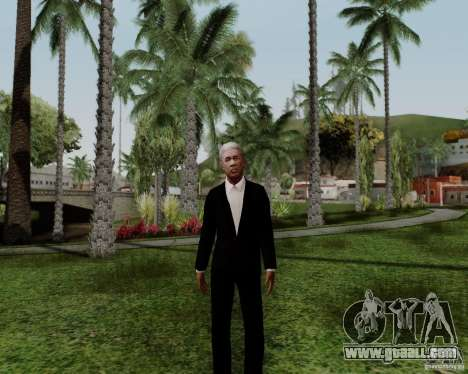 Morgan Freeman for GTA San Andreas third screenshot