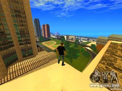 Global Parachute Mod for GTA San Andreas second screenshot