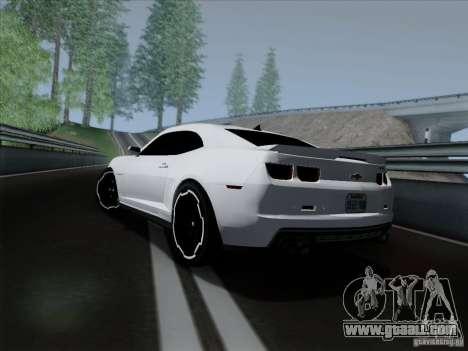 Chevrolet Camaro ZL1 2012 for GTA San Andreas left view