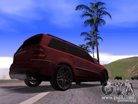 Mercedes-Benz GL500 Brabus for GTA San Andreas right view