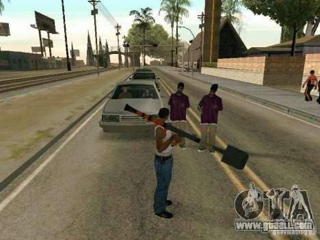 Lopatomët for GTA San Andreas fifth screenshot