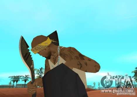 Khukuri for GTA San Andreas second screenshot
